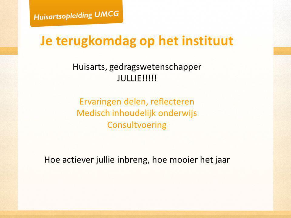 Kwartaal 1 Introductiemeerdaagse Kleine Kwalen Farmacotherapie (FTO) Spoed Basis consultvoering