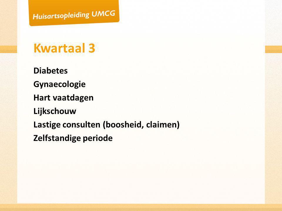 Kwartaal 4 Jeugd Gezondheidszorg Longendag Praktijkmanagement Geven CAT presentatie Toetsen/schatten/diagnostisch testen