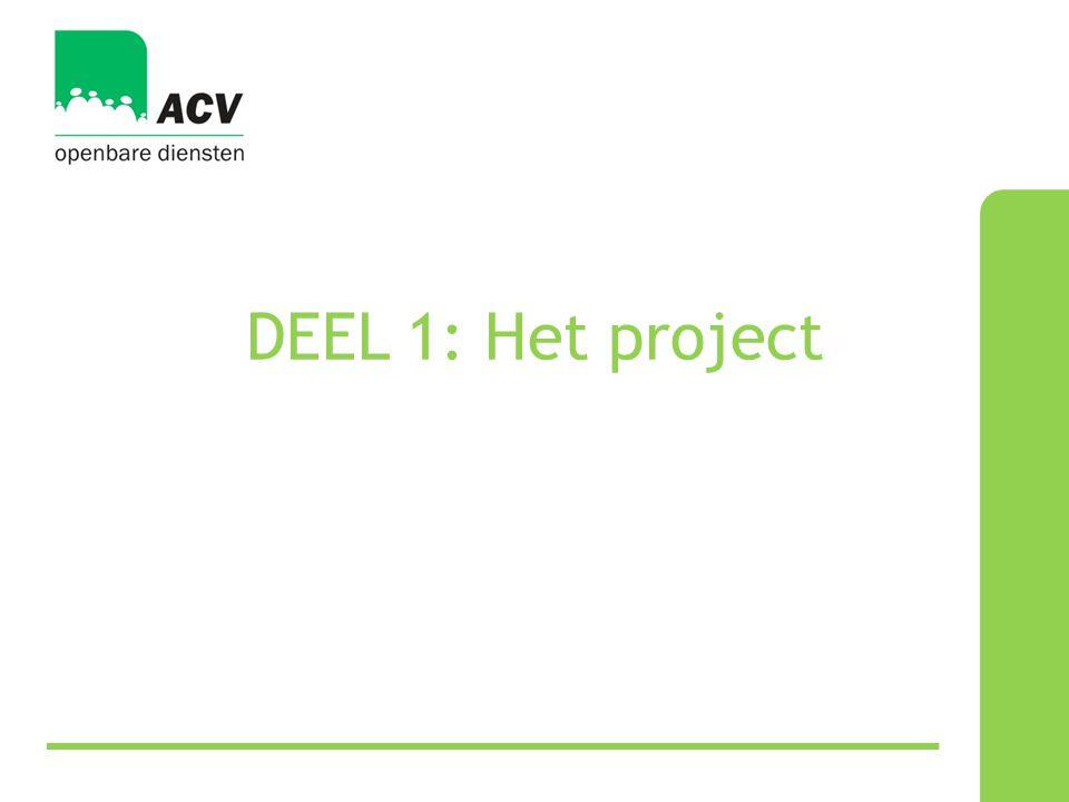 DEEL 1: Het project