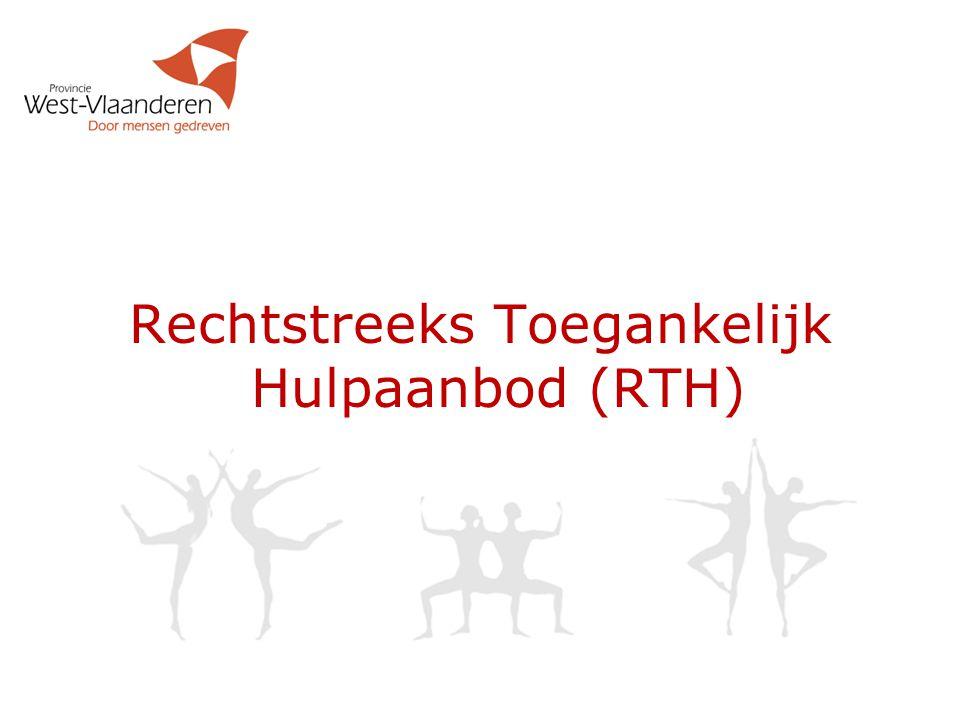 Rechtstreeks Toegankelijk Hulpaanbod (RTH)