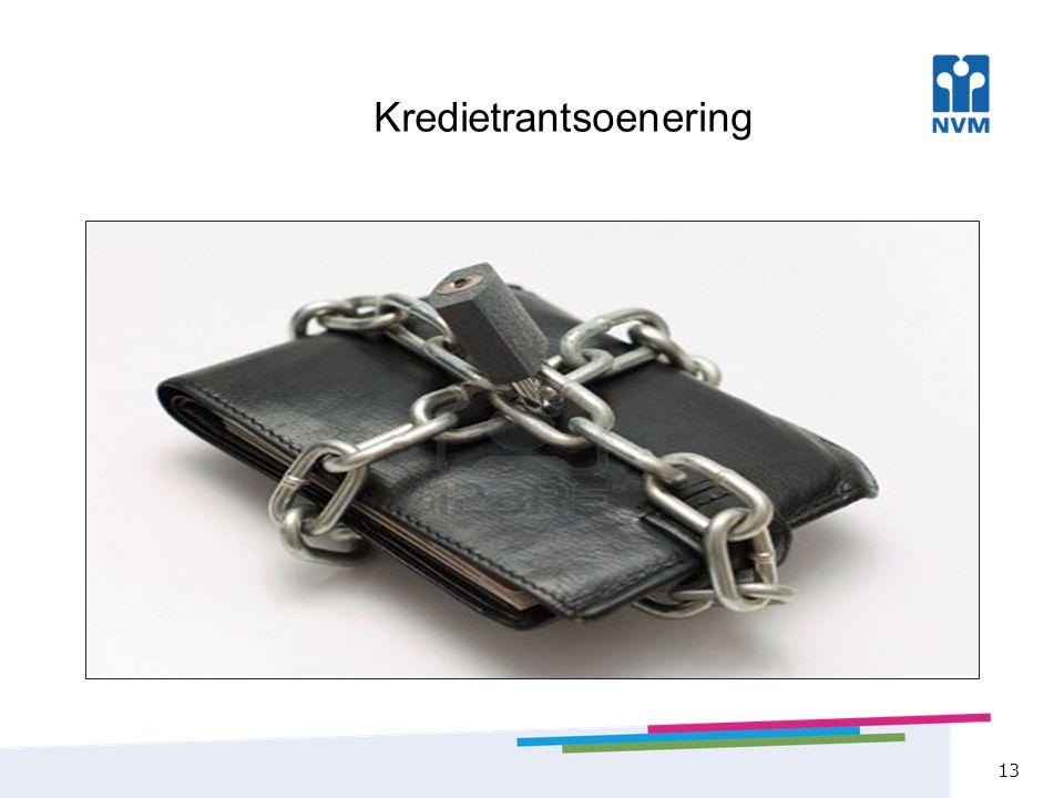 Kredietrantsoenering 13