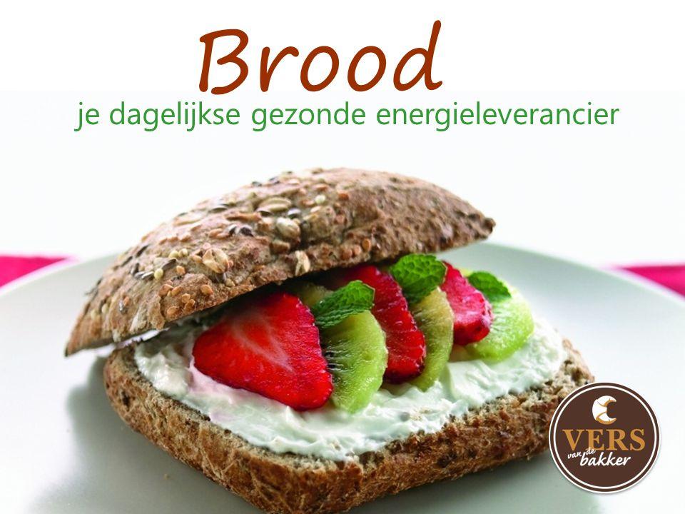 Brood je dagelijkse gezonde energieleverancier