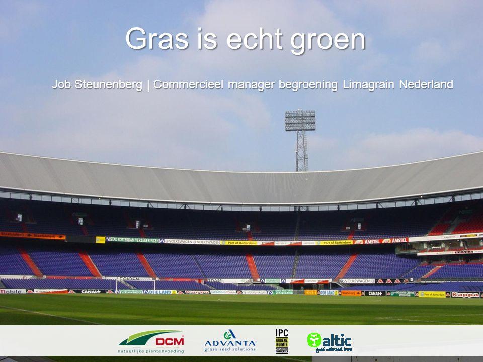 Gras is echt groen Job Steunenberg   Commercieel manager begroening Limagrain Nederland Job Steunenberg   Commercieel manager begroening Limagrain Ned