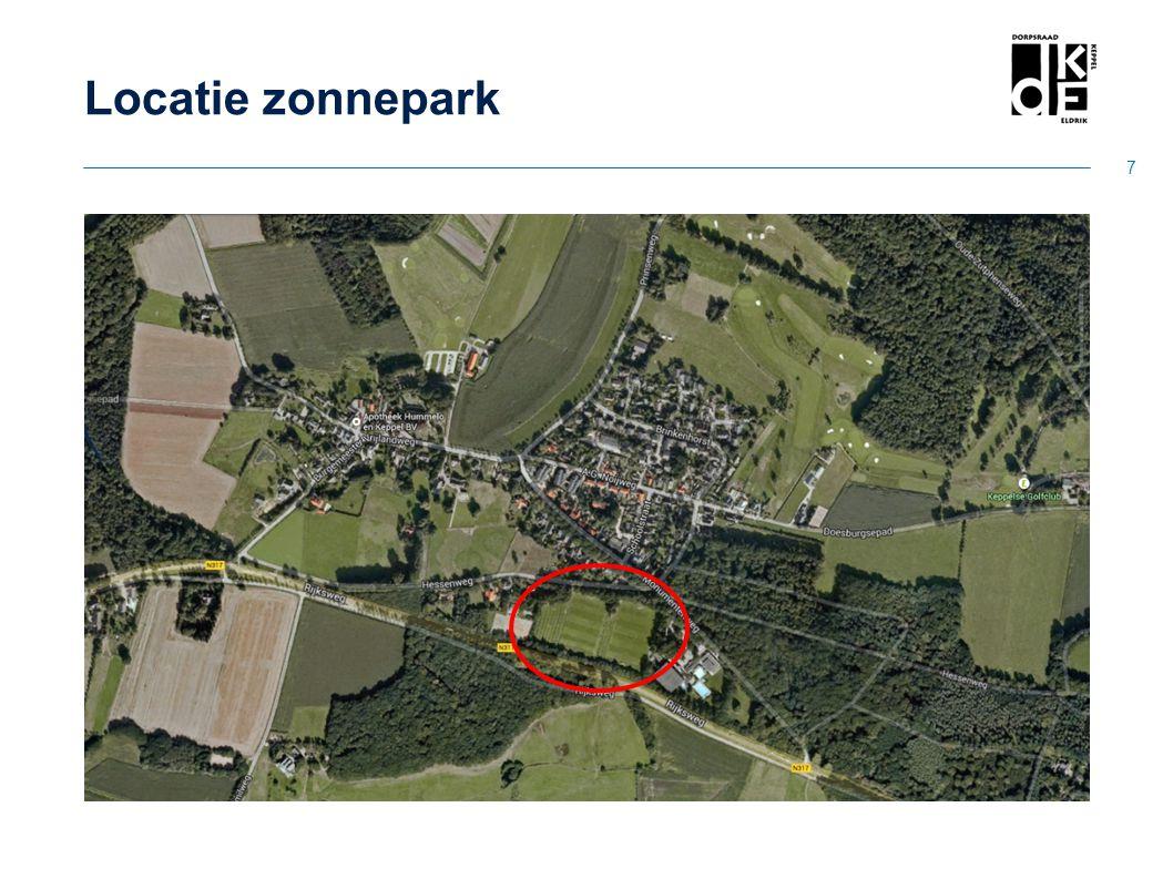 Locatie zonnepark 7