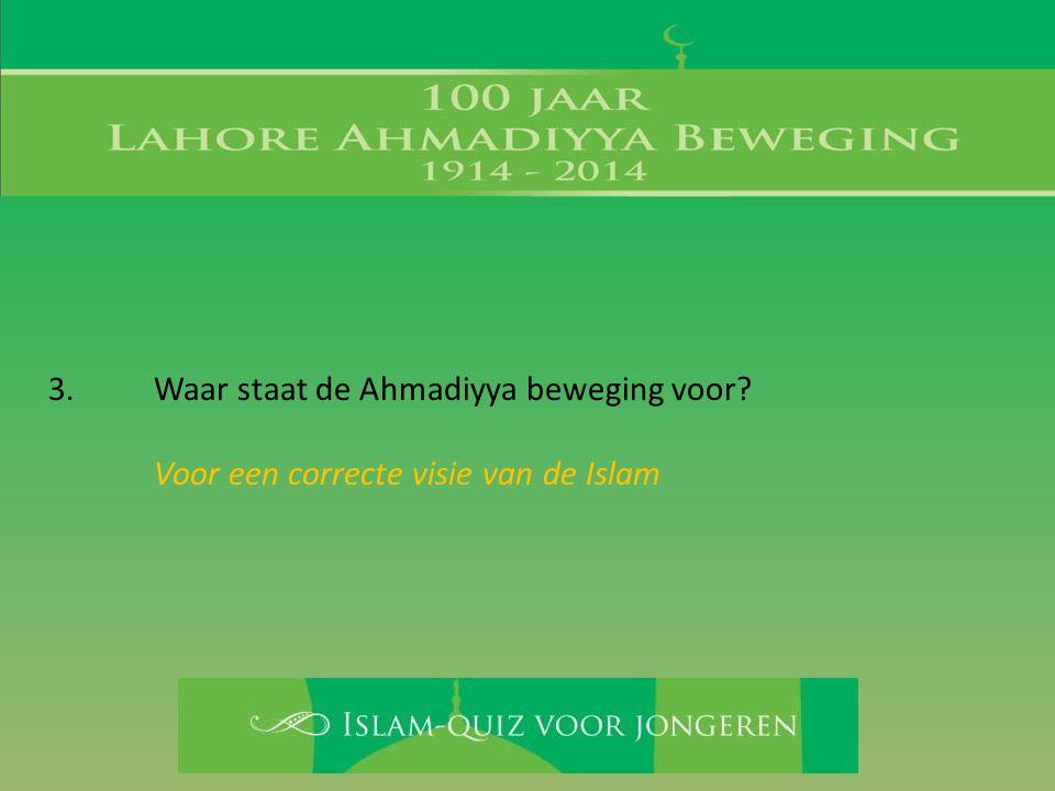 Voor een correcte visie van de Islam