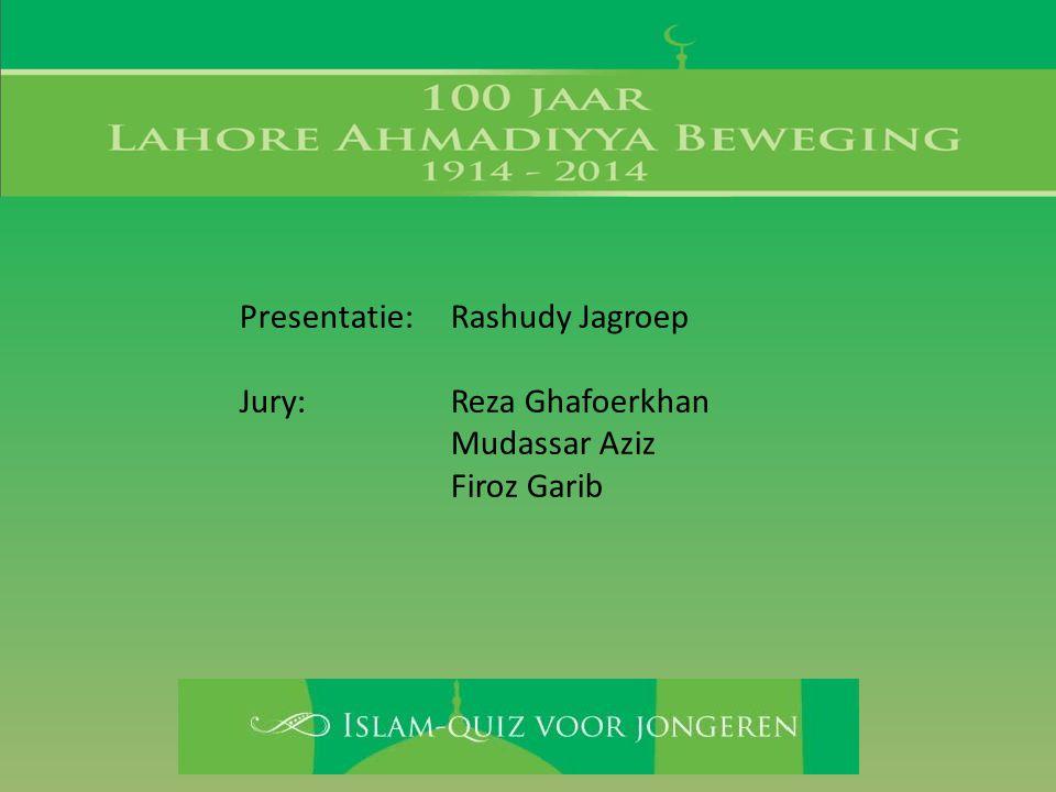 Regie:Tariq Saboerali Farid Kalloe Ondersteuning: Rais Saboerali Sarina Rahiembaks