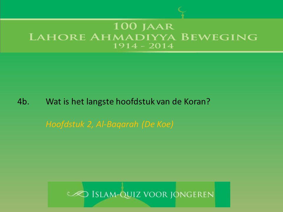 Hoofdstuk 2, Al-Baqarah (De Koe)