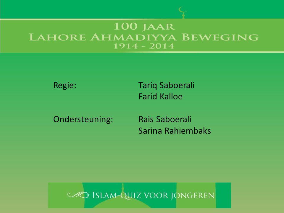 6. Zeven hoofdstukken van de Koran zijn vernoemd naar een profeet. Noem drie van zulke profeten.