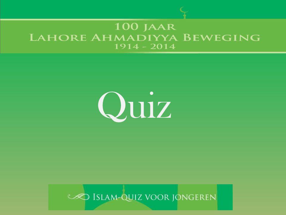 1a. Het woord Islam heeft 2 hoofdbetekenissen. Noem ze beide.