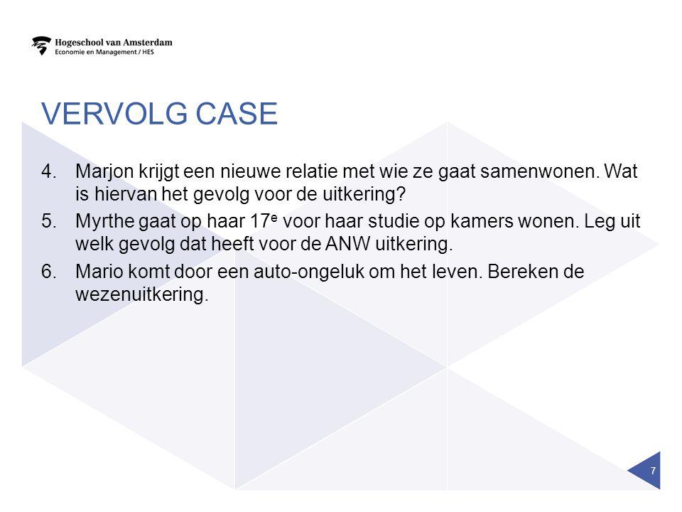 ANW-HIAAT Zie voorbeeld brochure NN collectieve ANW-Hiaat (pensioen)verzekering 8