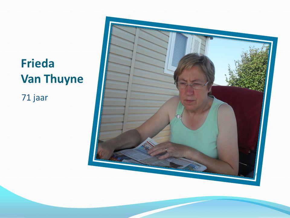 Frieda Van Thuyne 71 jaar