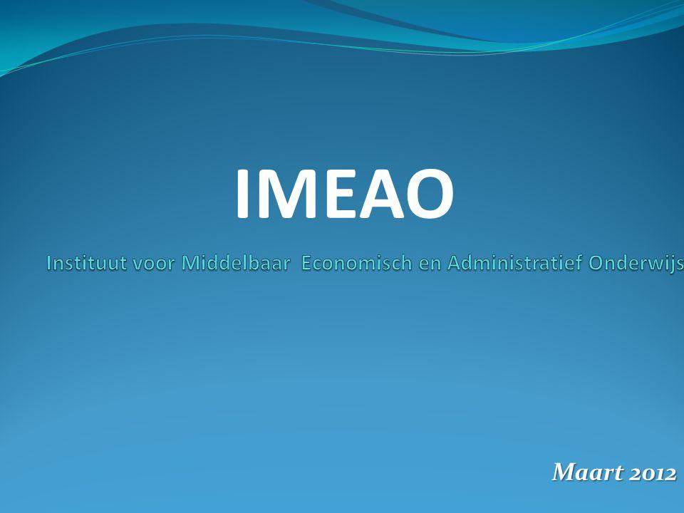 Maart 2012 IMEAO