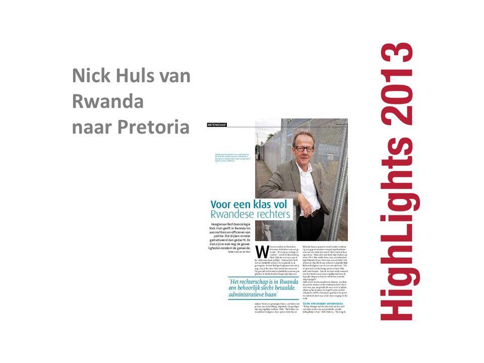 Nick Huls van Rwanda naar Pretoria
