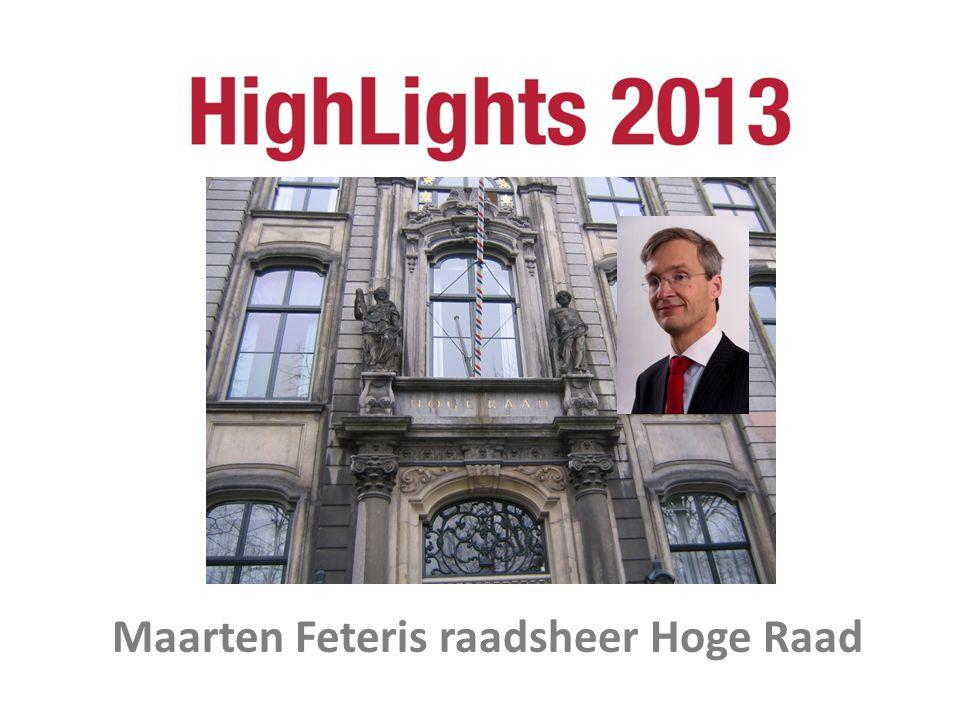 Maarten Feteris raadsheer Hoge Raad