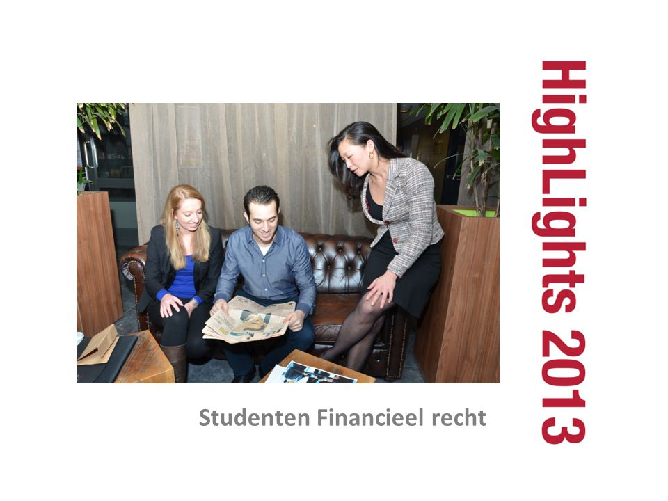 Studenten Financieel recht