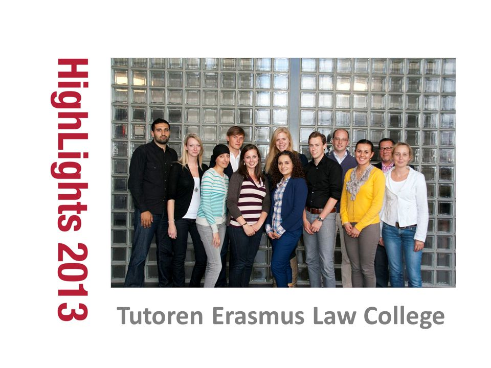 Tutoren Erasmus Law College