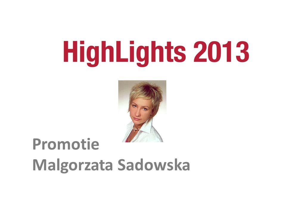 Promotie Malgorzata Sadowska