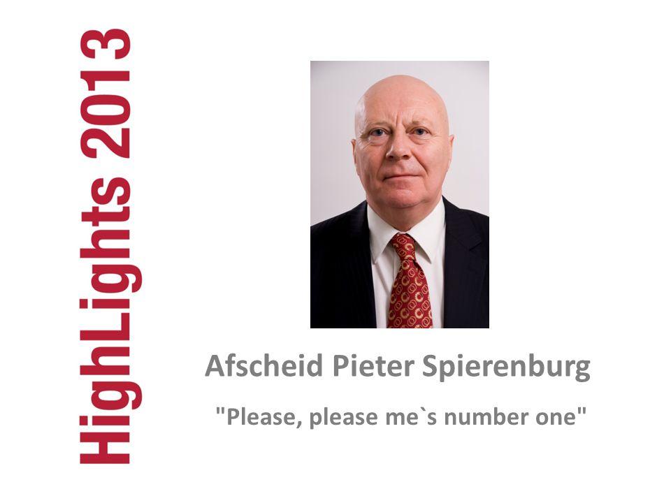 Please, please me`s number one Afscheid Pieter Spierenburg