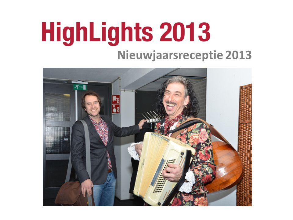 Nieuwjaarsreceptie 2013