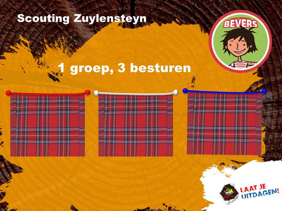 Scouting Zuylensteyn 1 groep, 3 besturen