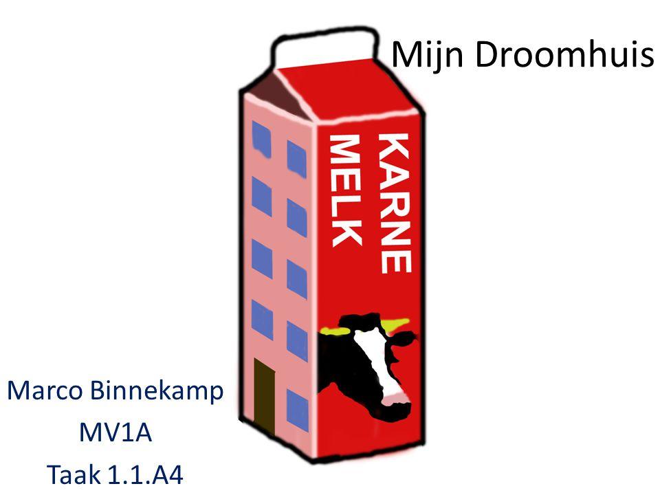 Mijn Droomhuis Marco Binnekamp MV1A Taak 1.1.A4