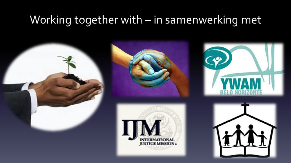 Working together with – in samenwerking met