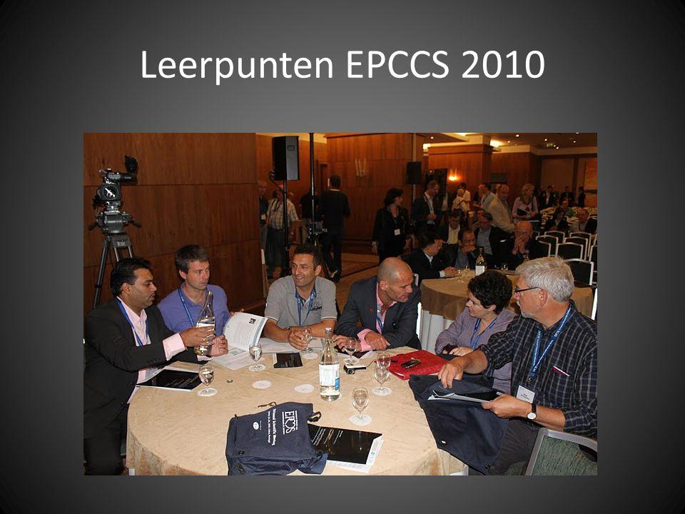 Leerpunten EPCCS 2010