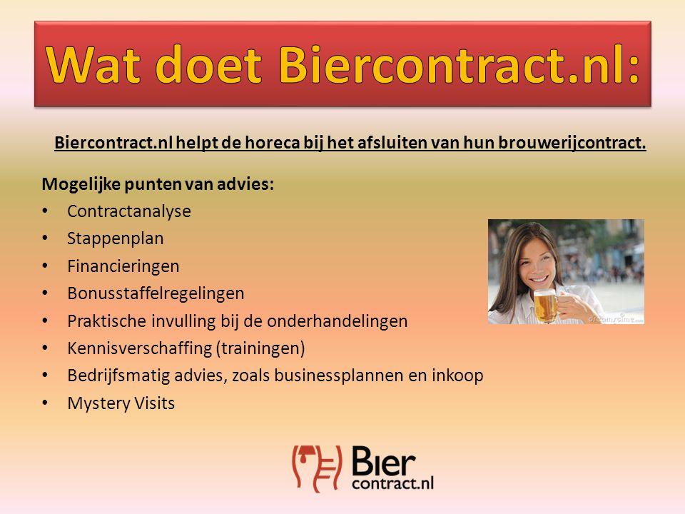 Biercontract.nl helpt de horeca bij het afsluiten van hun brouwerijcontract.