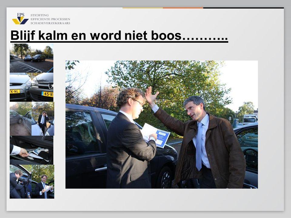 Geavanceerde oplossing Mobiel Schade Melden.nl Back office maatschappij Web site verzekeraar Klant centraal + meerdere relevante features voor klant: polisgegevens, aanbieden vervangend vervoer, indien klant niet meer verder kan rijden.