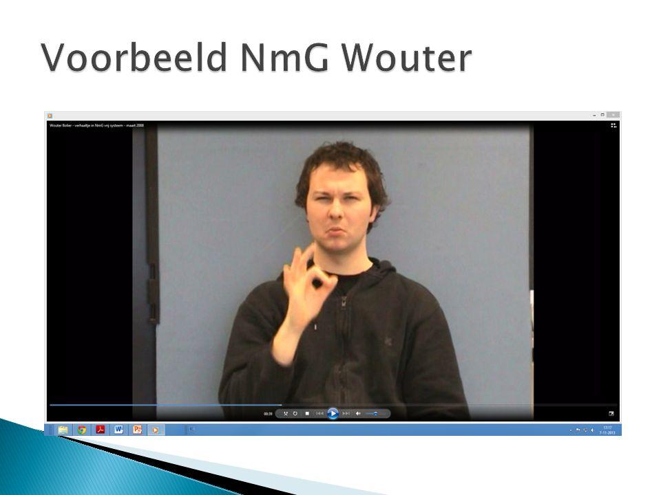  Gebarentolk gebruikt NmG  Steeds meer tolkopdrachten NmG  Maar hoe dan.