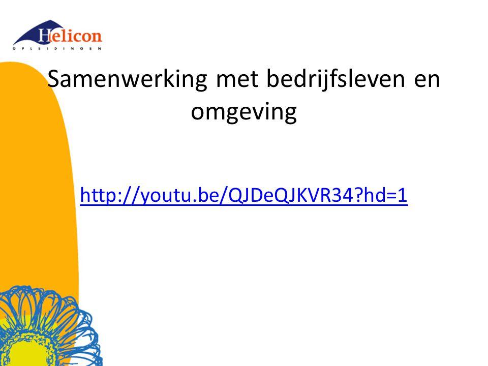 Samenwerking met bedrijfsleven en omgeving http://youtu.be/QJDeQJKVR34?hd=1