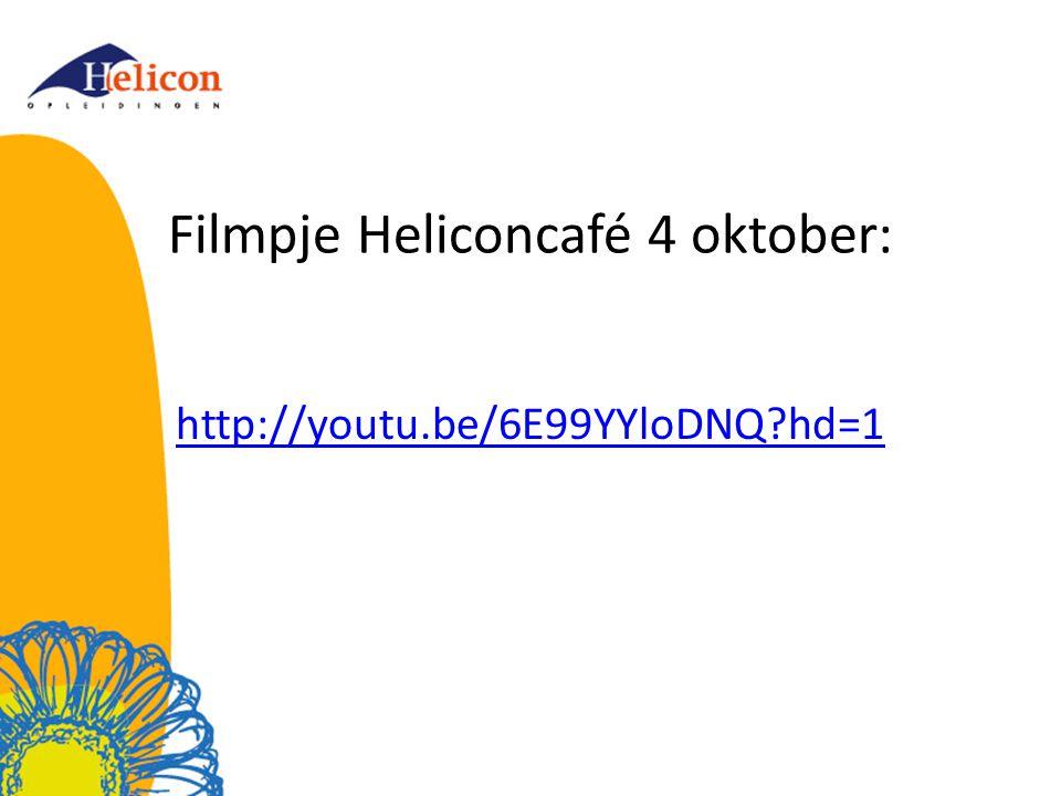 Filmpje Heliconcafé 4 oktober: http://youtu.be/6E99YYloDNQ?hd=1