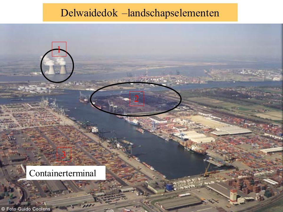 Landschapselementen - … terminal Kranen voor zeeschip 800 000m² ruimte voor steenkoolopslag tot 6 miljoen ton Kranen voor wagons en binnenschepen