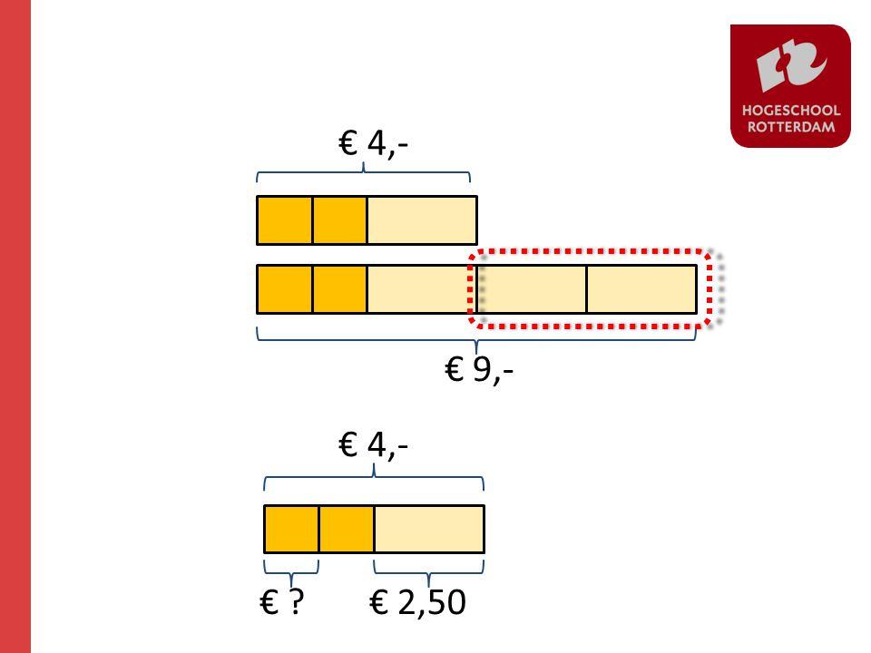 € 9,- € 2,50 € 4,- € ?