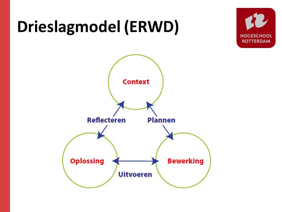 Drieslagmodel (ERWD)