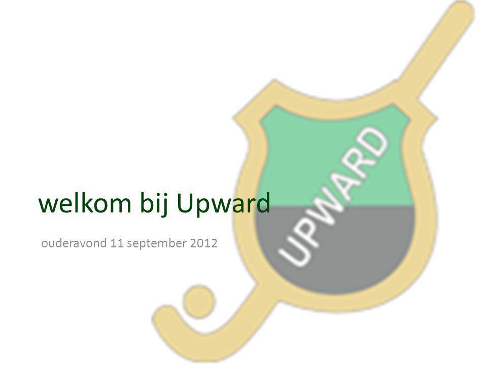 welkom bij Upward ouderavond 11 september 2012