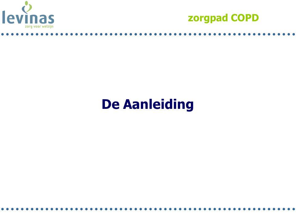 zorgpad COPD De Aanleiding