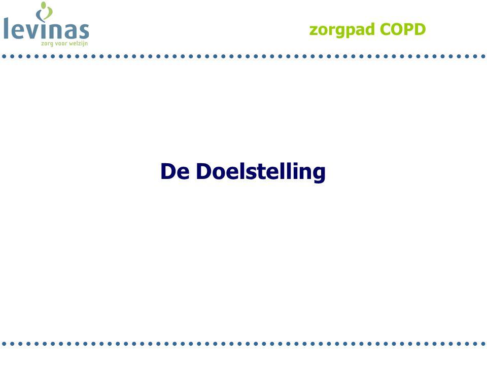 zorgpad COPD De Doelstelling