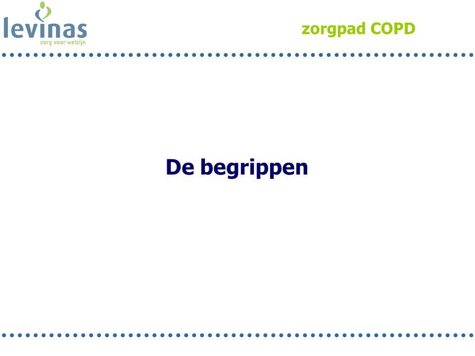 zorgpad COPD De begrippen