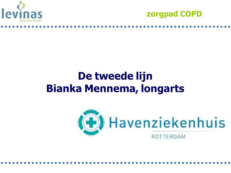 zorgpad COPD De tweede lijn Bianka Mennema, longarts
