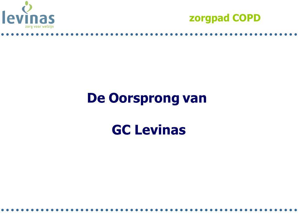 zorgpad COPD De Oorsprong van GC Levinas