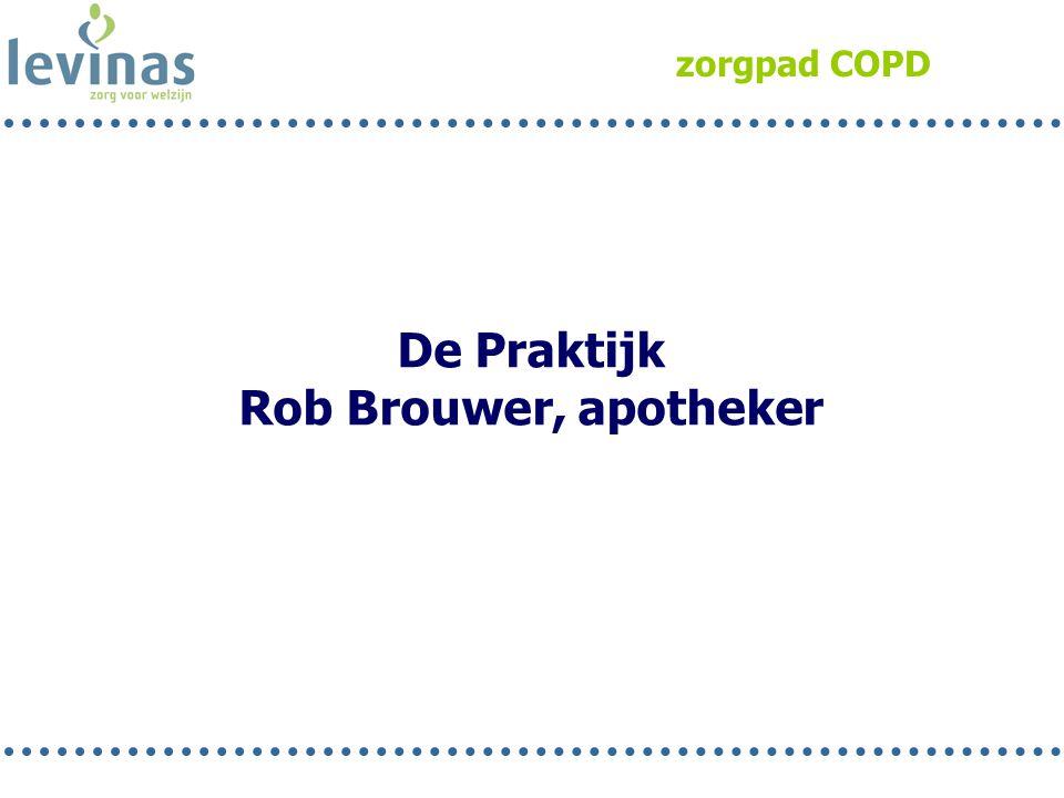 zorgpad COPD De Praktijk Rob Brouwer, apotheker