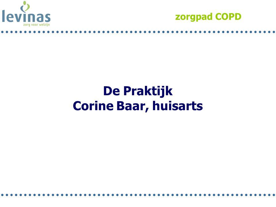 zorgpad COPD De Praktijk Corine Baar, huisarts