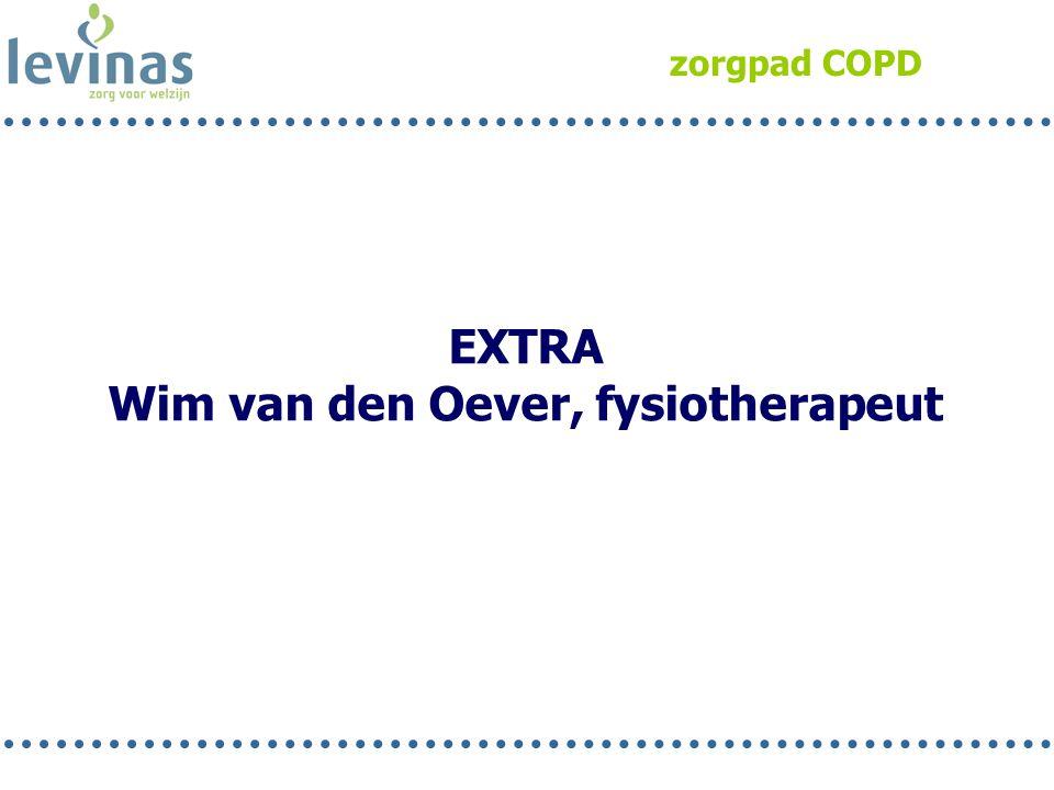 zorgpad COPD EXTRA Wim van den Oever, fysiotherapeut