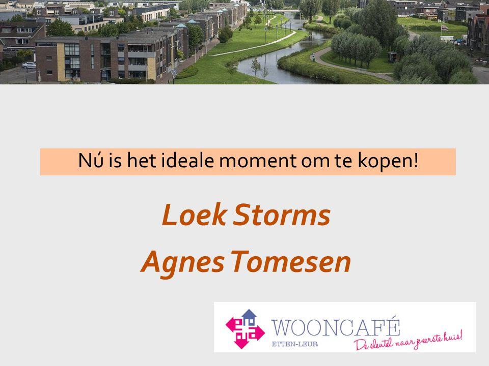 Loek Storms Agnes Tomesen Nú is het ideale moment om te kopen!