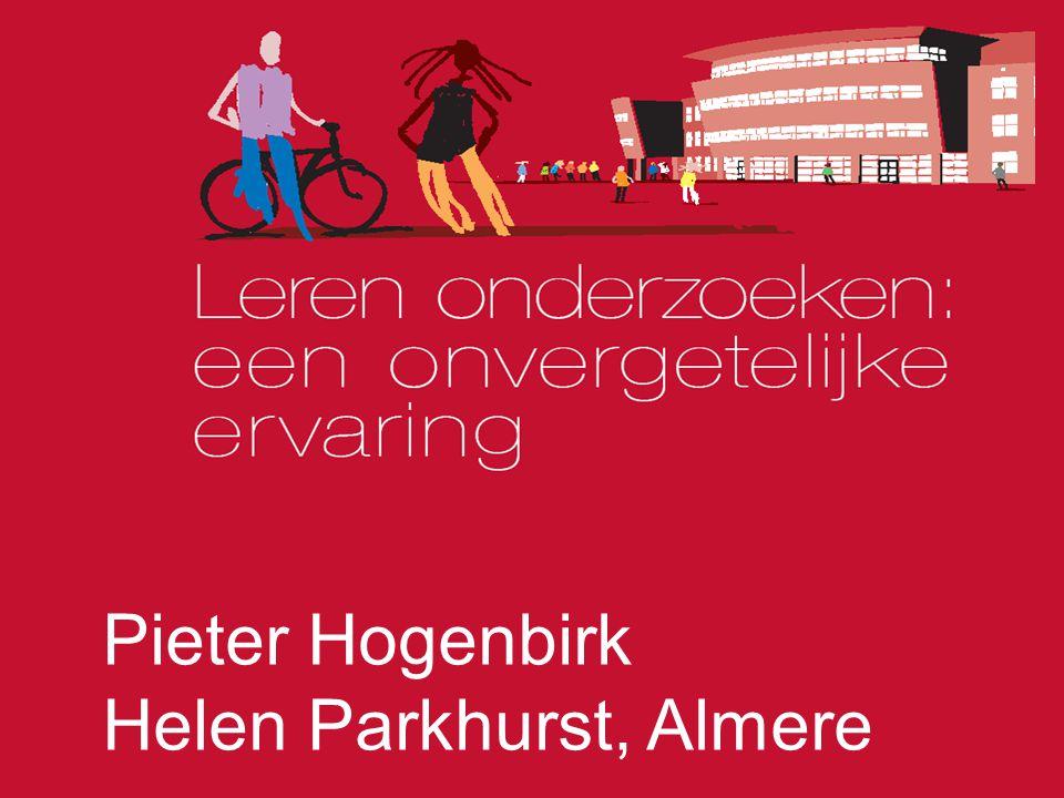 Pieter Hogenbirk Helen Parkhurst, Almere