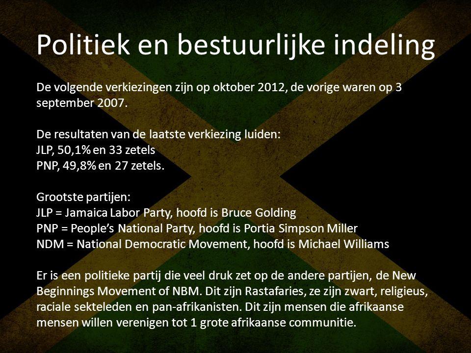 Politiek en bestuurlijke indeling De volgende verkiezingen zijn op oktober 2012, de vorige waren op 3 september 2007. De resultaten van de laatste ver