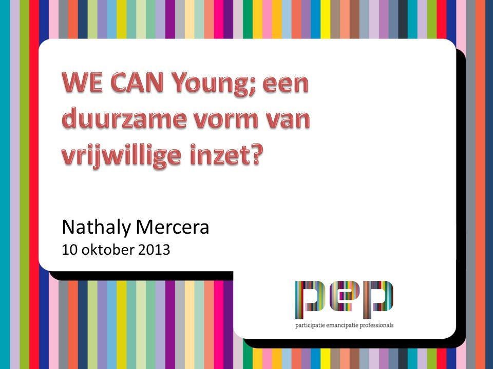 • Informatie PEP • Wat is WE CAN Young.