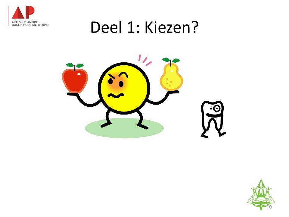 Studie-informatieavond K. A. Keerbergen – 18 februari 2011 Deel 1: Kiezen 10