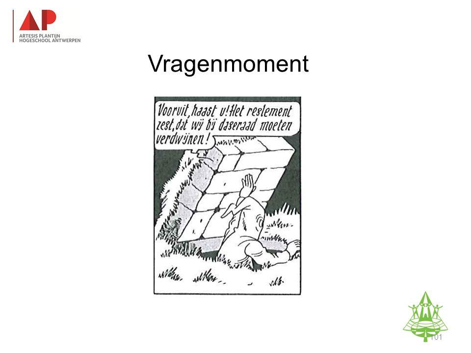 Vragenmoment Studie-informatieavond K. A. Keerbergen – 18 februari 2011 101